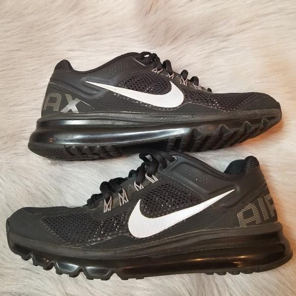 Nike . Black Air Max+ 2013 . SZ 9.5